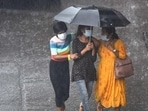 Southwest monsoon completely withdrew from India on Monday. (Satish Bate/HT PHOTO)