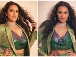 Bollywood actor Sonakshi Sinha has always had an independent style sense, impressing fashion police for a whole decade. Her wardrobe revolves around retro-Bollywood and vintage Hollywood trends. She always carries an uninhibited charm to her looks, and we love her for the same.(Instagram/@mohitrai)