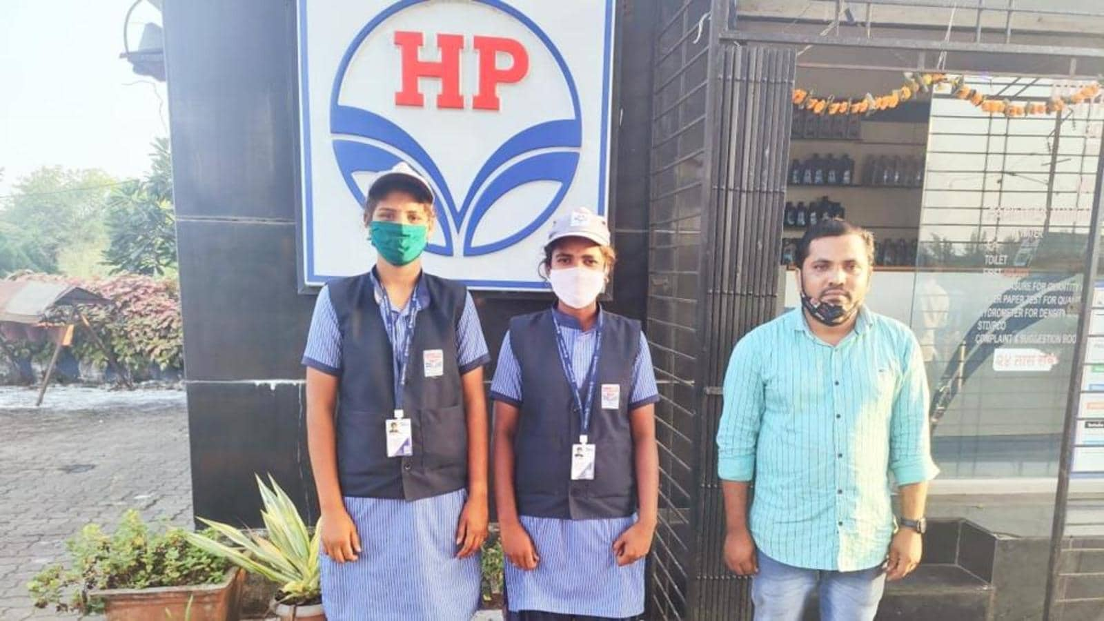 Palghar petrol pump owner employs two tribal women; will also fund their education