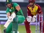 SA vs WI T20 World Cup 2021 Live Cricket Score(AP)
