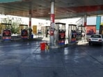 A gas station is empty because the pumps are out of service, in Tehran, Iran, Tuesday, Oct. 26, 2021.(AP)