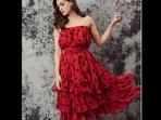 Kriti Sanon acing her look in a midi dress.(KritiSanon/Instagram)