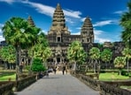 Cambodia's government announced plans Tuesday to reopen the country in several stages to fully vaccinated foreign tourists starting from the end of next month.(Unsplash)