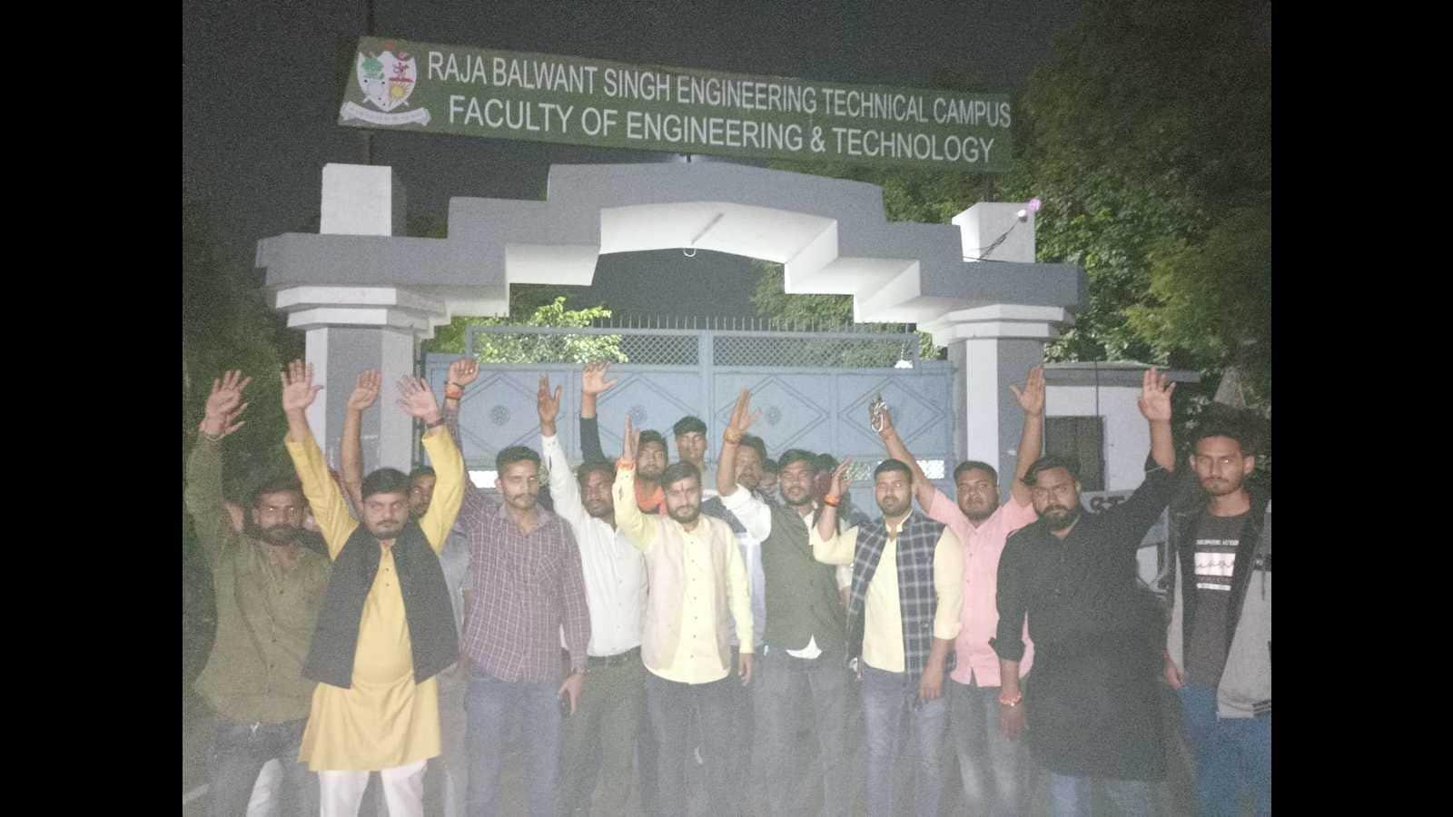 Anti-India slogans: Case registered against three Kashmiri students in Agra