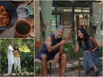 Also known as Sasan Gir, is a national park and wildlife sanctuary located near Talala Gir in Gujarat. Milind Soman and Ankita are currently having a gala time there.(Instagram/@milindrunning)