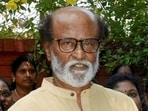 Rajinikanth hospitalised in Chennai for a routine check-up.(PTI PHOTO.)