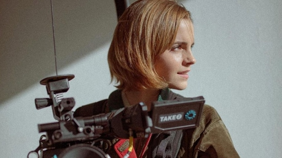 Emma Watson has hinted that she might be directing a movie.