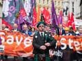 Tata Steel workers protest in Britain over sale plan
