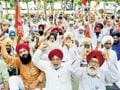 Amritsar farmers protest against agricultural policies