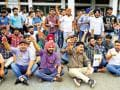 Seeking attention, student bodies resort to dharna politics on PU campus