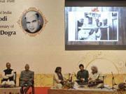 PM Narendra Modi attends birth cenetary of J-K leader Girdhari Lal...