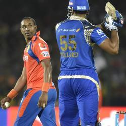 Injured Dwayne Bravo out of Gujarat Lions' 2017 IPL campaign