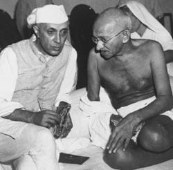 Mahatma Gandhi and Jawaharlal Nehru's contributon to India's freedom struggle is well documented, but textbooks in Rajasthan do not mention who India's first Prime Minister was. It also does not say anything about Mahatma Gandhi's assassination.