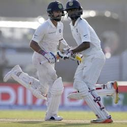 Virat Kohli and Abhinav Mukund put on a 133-run stand as India finished the Day 3 of the Galle Test against Sri Lanka with a lead of 498.