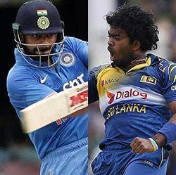 Virat Kohli's duel with Lasith Malinga will be an interesting one to watch out for in the five-ODI series between India vs Sri Lanka, starting August 20.