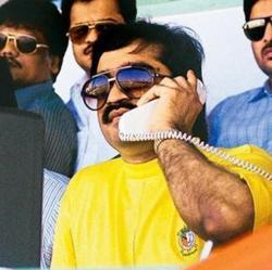 A file photo of Dawood Ibrahim, one of India's most wanted terrorists, who is believed to be in Pakistan.