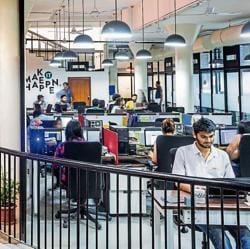 Aspirants learn entrepreneurial skills at a Delhi-based incubator, 91 Springboard.