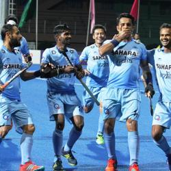 India thrashed Pakistan in Asia Cup hockey inDhaka on Saturday.