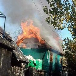Suspected militants gunned down a PDP worker in Shopian, and a day later set his house ablaze.