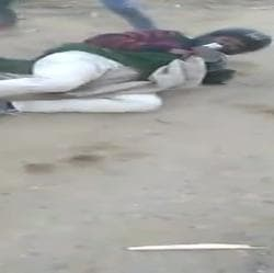 A Dalit youth was allegedly beaten up by four Hindu Vahini activists in Muzaffarnagar.
