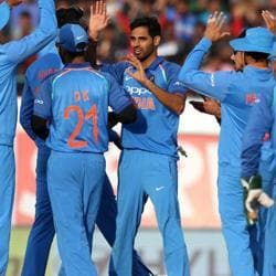 Bhuvneshwar Kumar was named Man-of-the-Match after India defeated South Africa in the first of the three Twenty20 Internationals at the Wanderers in Johannesburg on Sunday.
