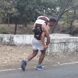 A cadet carried his unconscious junior on his back for 2.5km to complete a cross-country run at the National Defence Academy (NDA) in Khadakwasla recently.