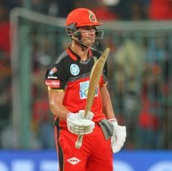 AB De Villiers overshadowed Rishabh Pant's 48-ball 85 to lift Royal Challengers Bangalore to fifth in the IPL 2018 points table. Delhi Daredevils remain at the bottom.