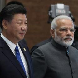 The Modi-Xi summit meeting is taking place in the backdrop of series of high level interactions between both the two countries starting with Chinese Foreign Minister Wang's visit to India in December, the first after Doklam standoff.