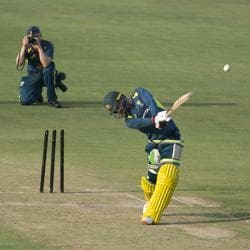 Maxwell in focus as AUS start training ahead of T20I series- See pics