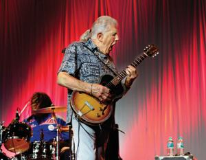 John Mayall has led numerous bands and counts as being someone who has provided a launching pad for many musicians(Shutterstock)
