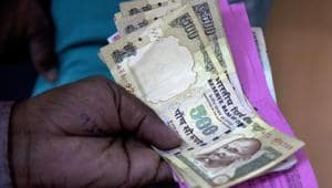 Banks received about Rs 1.13-lakh crore from customers without valid documents after demonetisation.(AP File Photo)
