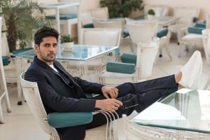 Actor Sidharth Malhotra is nominated in the Most Stylish Actor - Readers' Choice category.(Aalok Soni/HT PHOTO)