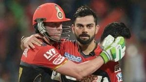 Virat Kohli and AB de Villiers are both doubtful starters for Royal Challengers Bangalore (RCB) in 2017 Indian Premier League (IPL).(AFP/Getty Images)