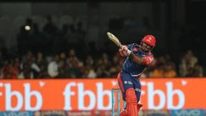 Rishabh Pant's heroics went in vain as Royal Challengers Bangalore defeated Delhi Daredevils by 15 runs to register their first win in the 2017 Indian Premier League. Catch full cricket score of Royal Challengers Bangalore vs Delhi Daredevils here.(BCCI)