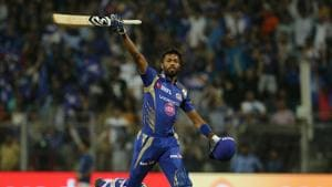 Hardik Pandya's quickfire knock of 29* helped Mumbai Indians beat Kolkata Knight Riders by four wickets to register their first win in the 2017 Indian Premier League. Get full cricket score of Mumbai Indians vs Kolkata Knight Riders here(BCCI)