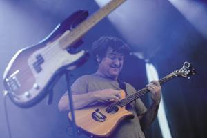 Live phrased looping is the hallmark of Keller Williams's music(Getty Images)