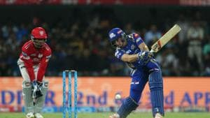 Jos Buttler's 37-ball 77 helped Mumbai Indians thrash Kings XI Punjab by eight wickets to go to top of IPL 2017 standings.(BCCI)