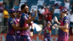 Jaydev Unadkat's brilliant spell sealed Rising Pune Supergiant IPL 2017 playoff spot with a comfortable 9-wicket win over Kings XI Punjab. Get full cricket score of Rising Pune Supergiant vs Kings XI Punjab here(BCCI)