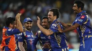 Mitchell Johnson's final over heroics helped Mumbai Indians clinch their third Indian Premier League (IPL) title with a nervy win over Rising Pune Supergiant at the Rajiv Gandhi International Stadium, Hyderabad. Get full cricket score of Rising Pune Supergiant vs Mumbai Indians here(BCCI)