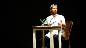 South African poet Xabiso Vili talks about his inspirations, his poetry, and performing his new poetry collection in India(Jagjeet Singh)