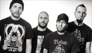 Metal veterans Rotten Sound play 'grindcore' metal, a genre characterised by micro-songs delivered with a high intensity(rottensound.com)