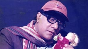 Veteran actor Aanjjan Srivastav essay the role of the protagonist, Ishwar Chand Awasthi.(HT Photo)