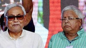 Talks of a rocky relationship between alliance partners Nitish Kumar and Lalu Prasad have gained ground since the Bihar chief minister broke ranks and backed NDA's Presidential candidate Ram Nath Kovind.(PTI file)
