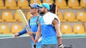Virat Kohli, MSDhoni practice hard as India eye ODI domination vs Sri ...