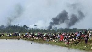 Rohingya villages burnt to the ground in Myanmar, sparking one of world's worst refugee crises