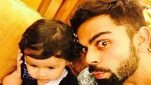 Virat Kohli shares 'reunion' video with MS Dhoni's daughter Ziva
