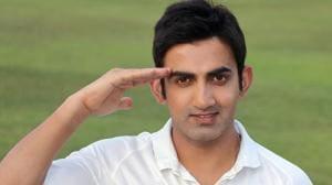 Gautam Gambhir gets DeshFramed; voices support for Armed Forces Flag Week