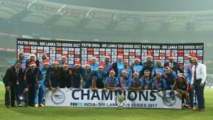 India beat SriLanka by 5 wickets, sweep T20 series 3-0