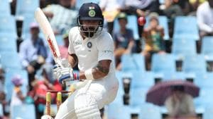 Virat Kohli in action on Day 2 of the second Test between South Africa and India at Centurion. Get highlights of the India vs South Africa, second Test, Day 2 from SuperSport Park in Centurion here(BCCI)