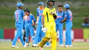 India have a thin edge over Australia in the head-to-head in previous ICC Under-19 Cricket World Cup meetings.(ICC)